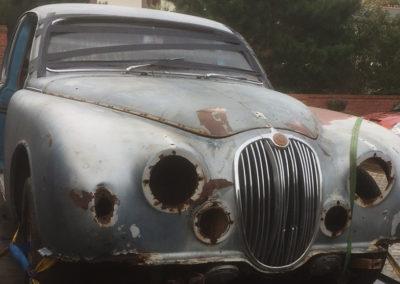 1959 Jaguar Mk1 3.4auto